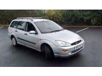 51 Plate Ford Focus 1.6 16v Petrol Manuel Estate