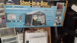 Shed fabric. (Shed-In-A-Box) 10x10