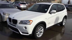 2013 BMW X3 28i very low km SUV $1500 in savings over dealership