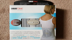 OBUSFORME Women's Back Belt with Lumbar Support
