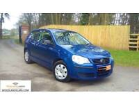 2007/57 Volkswagen Polo 1.2 ( 70PS ) E, Low miles, Full Service History