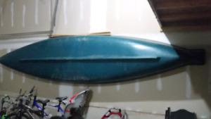 Mackinaw square stern canoe 15.6-ft