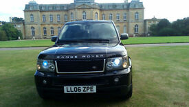 LHD 2006 RANGE ROVER SPORT 2.7TD V6 auto HSE AUTOBIOGRAPHY, LEFT HAND DRIVE