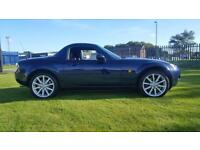 2007 MAZDA MX-5 SPORT,(160BHP) ELECTRIC ROOF,HEATED LEATHER,MAIN DEALER HISTORY
