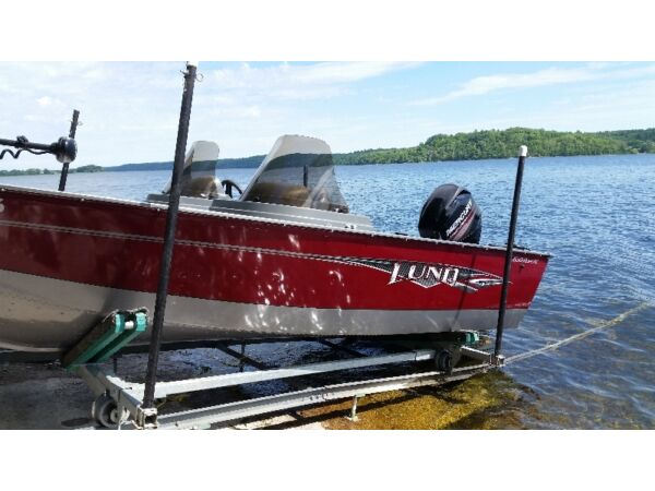 Used 2014 Lund Boat Co 1650 Rebel XLSS
