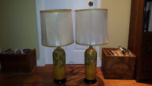 Pair of old 1970's funky lamps West Island Greater Montréal image 1
