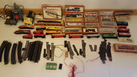 1970's Tyco Model Train Set - Diesel and Steam Locomotives HO