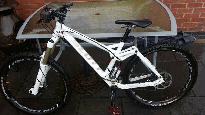 Scott Genius Lt30 Full Suspension Mountain Bike 2012 In
