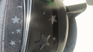 Selling my outdoor fire pit...stars and moon pattern..