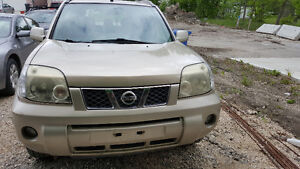 2005 Nissan X-trail LE SUV, all wheel drive, safetied