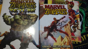 Marvel ZOMBIES HARCOVERs and tpbs