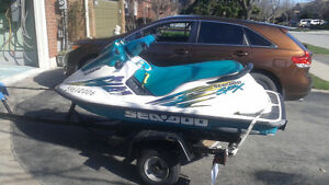 1996 seadoo spx, ready for summer, with trailer