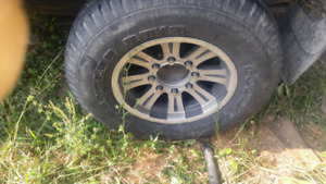 Tires and rims for sale 250 obo 8 bolt fits chev gmc and dodge