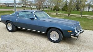 1977 Camaro Type LT 350 SBC 4 Speed Manual 4:10 Posi Rear