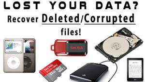 Lost Data, Recover Data Recovery Same Day