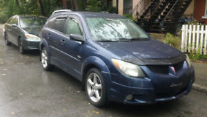 2004 PONTIAC VIBE AWD, NEGOTIABLE!