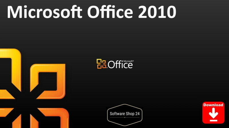 Microsoft Office 2010 Home and Student, Business, Standard, Professional Plus