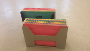 HANGING FILE FOLDER CONTAINERS