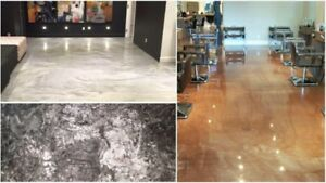 Garage, Basements, Show Rooms and Ware House Floors