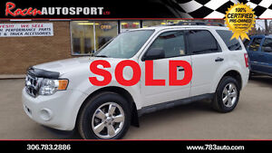 SOLD!!  CERTIFIED 2012 Escape XLT AWD - Leather + more! -Yorkton