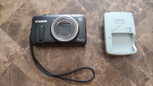 Canon powershot camera with 20x optical zoom