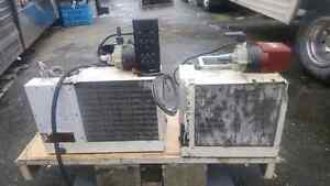 Two Reverse Cycle  Marine AC Heatpumps