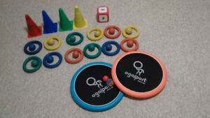 ***OGO DISCS / RUBBER RINGS / BALLS/ CONES for games***