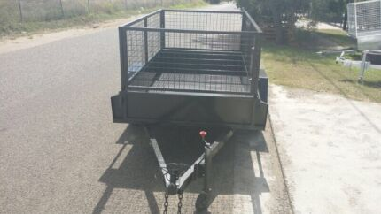 TRAILER-HIRE 8X5 WITH CAGE  Rocklea Brisbane South West Preview