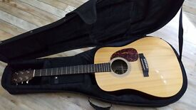 Martin DX1RGT 2008 Made in USA in Gator semi solid case