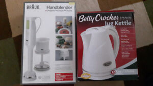 Handblender and Jug Kettle