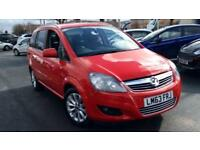 2013 Vauxhall Zafira 1.6i (115) Design 5dr Manual Petrol Estate