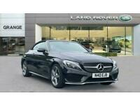 Mercedes-Benz C-CLASS C200 AMG Line Parktronic and Airscarf Auto Cabriolet Petro
