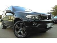 2004 BMW X5 D SPORT BLACK STYLING PACK WITH BLACK WHEELS AND BLACK LEATHE