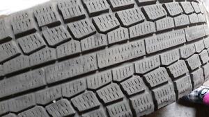 4 good winter tires on rims