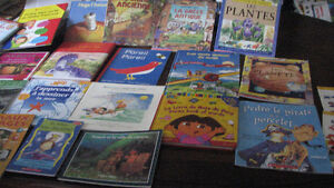 Many excellent children French books homeschool immersion