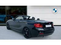 2018 BMW 2 Series 218i M Sport 2dr [Nav] Step Auto Petrol Convertible Convertibl
