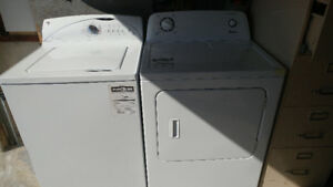 Ge washing machine and Amana dryer