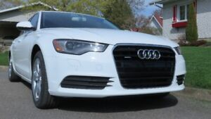 2013  AUDI A6  2.0T   (Achat neuf 2014)  UNE SEULE TAXE