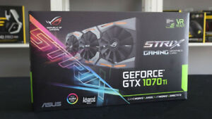 Asus ROG Strix Nvidia GeForce GTX 1070 Ti Advanced edition