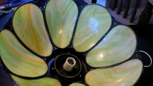 Beautiful Stained Glass Ceiling Light. Kitchener / Waterloo Kitchener Area image 5