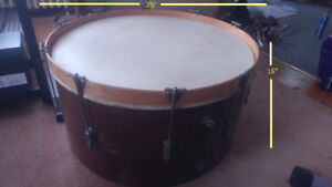Early 1900's Bass Drum Coffee Table