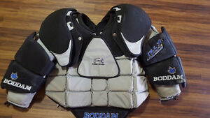XL Boddam NLL Ultra III Lacrosse Goalie Chest Protector  - Cat 3
