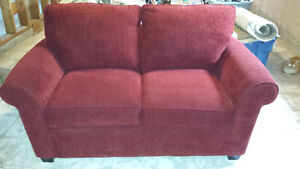 Brand New Red Loveseat- if ad is still up its still available Peterborough Peterborough Area image 1