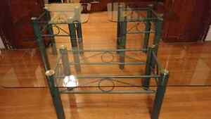 Glass Coffee/End Tables for sale
