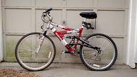 Like New Nakamura 24 Speed Men's Mountain Bike
