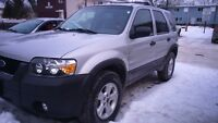 2007 Ford Escape XLT SUV  safetied OBO