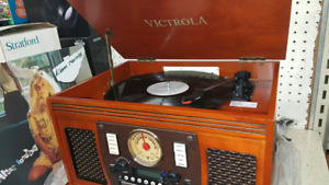 Victrola 8 in 1 Entertainment System