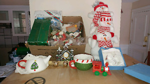Mixed lot of Christmas Decorations