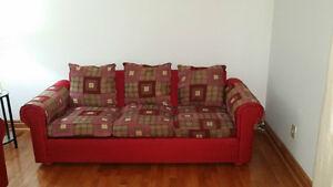 3 seater sofa + 1 sofa chair