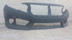 New Painted 2016-2017 Honda Civic Front Bumper & FREE shipping